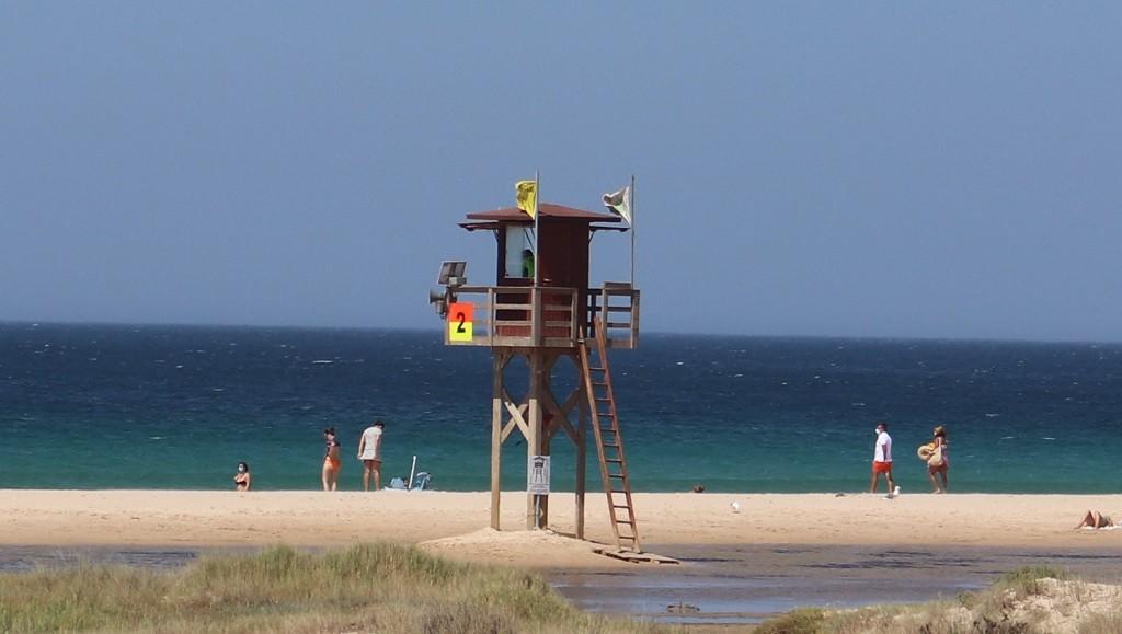 BEACH TOWER OF TARIFA