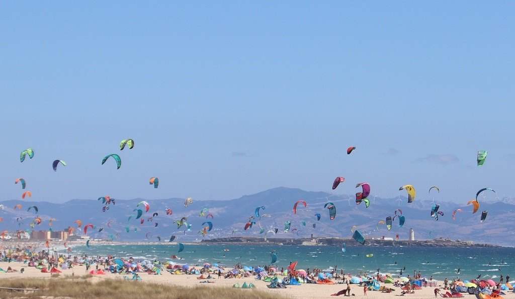 Los Lances Kitesurf Beach