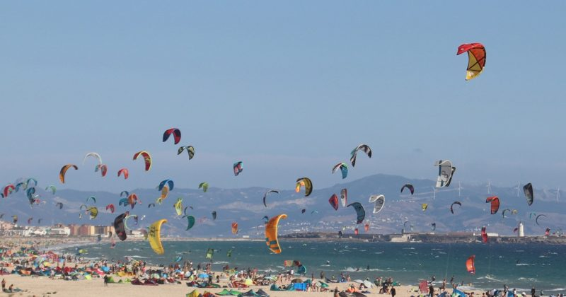 Photo Of Kite Surfers Paradise Tarifa