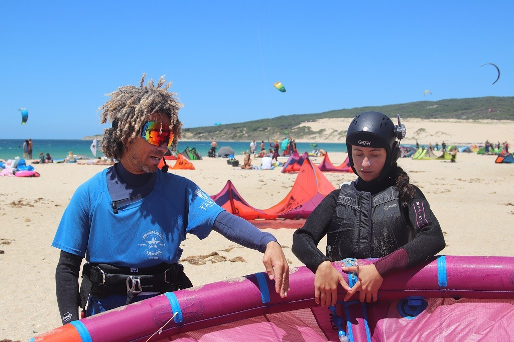 The one and only kitesurfing course in Tarifa