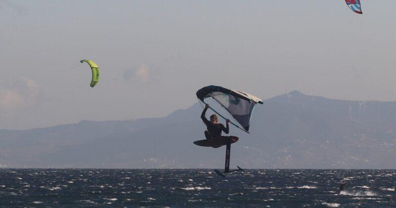 Wing Foil In Valdevaqueros