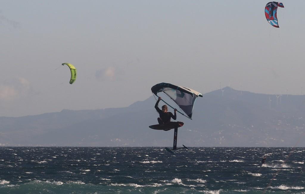 Wing Foiling in Valdevaqueros