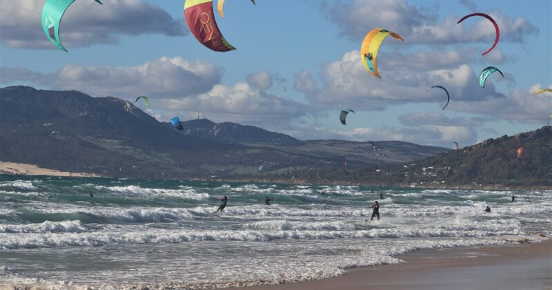 Winter Sailing In Tarifa