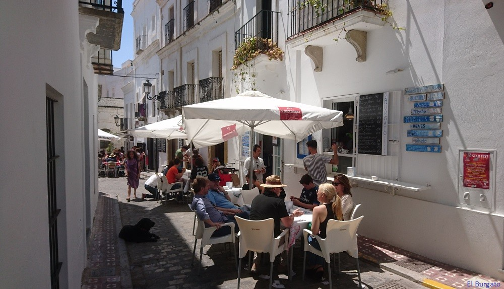 Tapas Bars In Calle Guzman El Bueno In Tarifa