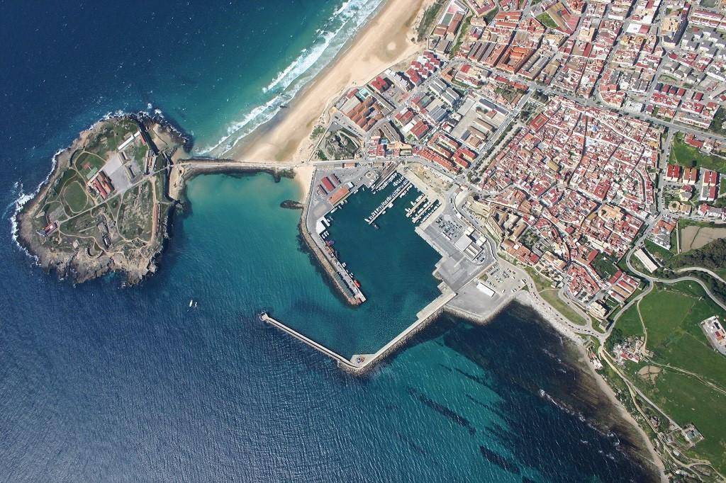 Aerial Photo Isla De Las Palomas Tarifa