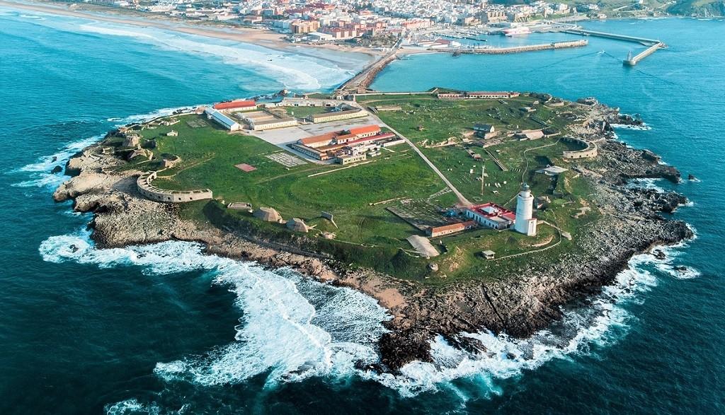Aerial Photo Of Isla De Las Palomas Tarifa