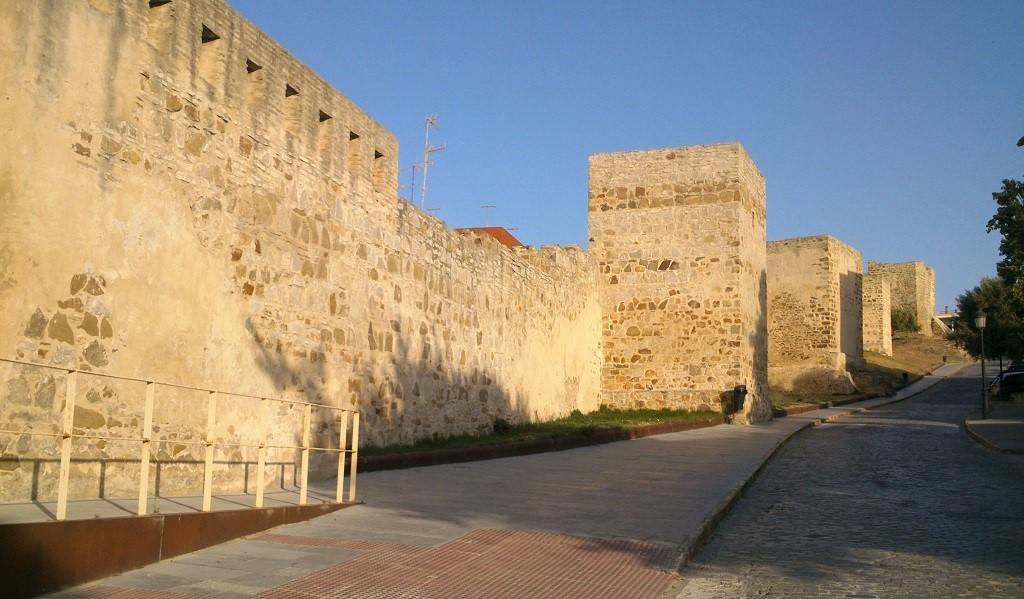 Photo City Wall Of Tarifa