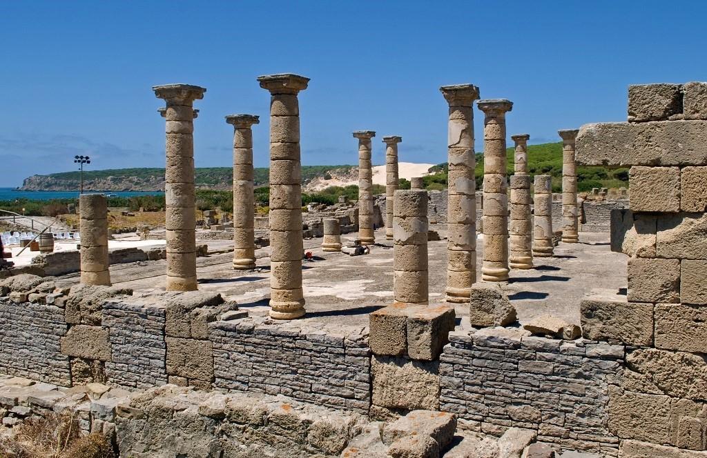 Roman Ruins Baelo Claudia In Bolonia