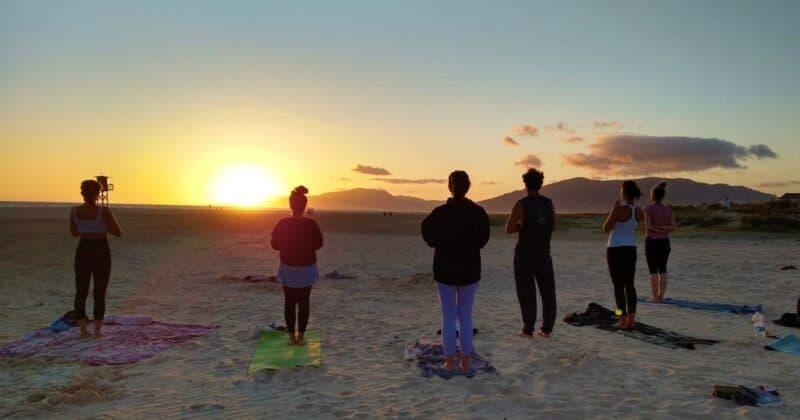 Beach Sunset Yoga Tarifa